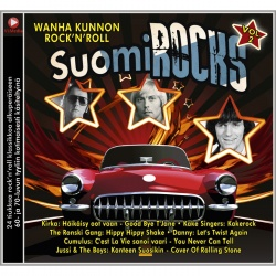 SuomiROCKS - Wanha kunnon Rock'n'Roll Vol. 2 (CD)