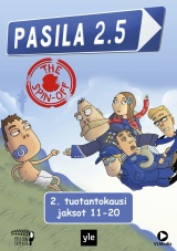 Pasila 2.5 - The Spin-Off 2. kausi (DVD)