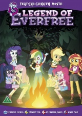 My Little Pony: Equestrian Girls - Legend of Everfree DVD