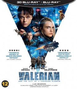 Valerian and the City of a Thousand Planets 3D 2-BD
